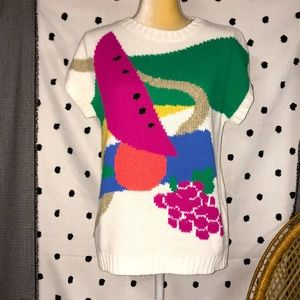Vintage Koret Fruit Sweater